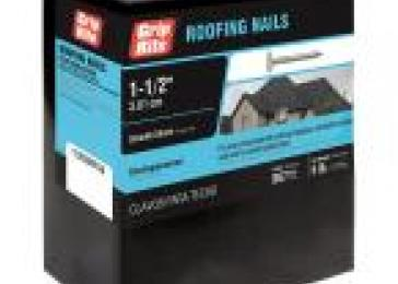 #11 x 1.5 in. Electro-Galvanized Steel Roofing Nails (5 lb.-Pack)
