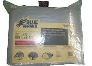 Blue Hawk 20-ft x 30-ft Polyethylene Tarp