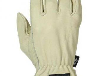 Husky Water Resistant Leather Work Glove