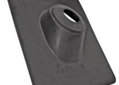 Thermoplastic 1.5-in To 3-in x 15-in Plastic Vent and Pipe Flashing