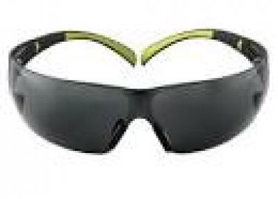 SecureFit 400 Series Black/Neon Green Frame with Anti-Fog Lens Safety Eyewear (3-Pack)